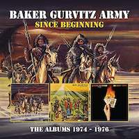 Baker Gurvitz Army –  Since Beginning The Albums 1974 – 1976