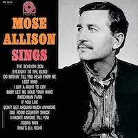 Mose Allison – Mose Allison Sings