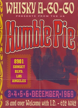 Humble Pie – Live At The Whisky A-Go-Go '69