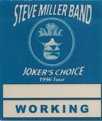 Steve Miller - Backstage